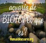 Acuario de Biotopo , que es