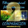 filtracion natural comparada con la comercial 2