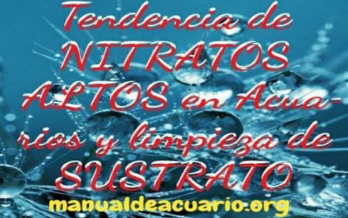 Nitratos altos en acuarios
