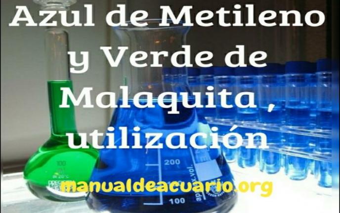 Utilización de Azul de Metileno y Verde de Malaquita en acuarios