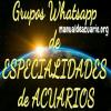 Grupos Whatsapp de especialidades de acuariofilia