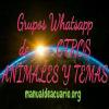 Grupos Whatsapp de otros animales y temas