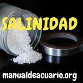 Salinidad en acuarios