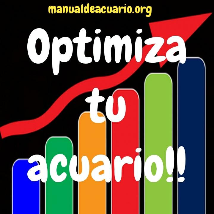 Optimiza tu acuario