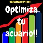Optimiza tu acuario