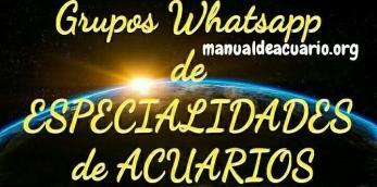 Grupos Whatsapp de especialidades de acuariofilia 1