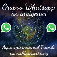 Grupos Whatsapp en imágenes de Aqua Internacional Friends